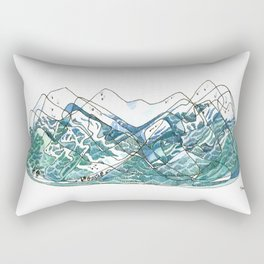 Whistler Blackcomb Rectangular Pillow