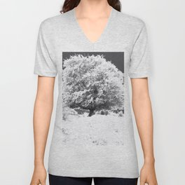 Snow Tree Unisex V-Neck