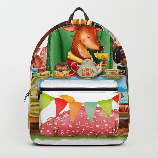 Autumn tea party #1 Backpack