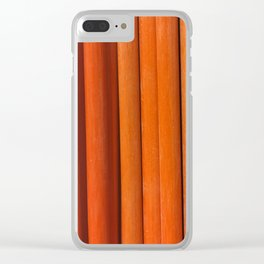Sticks, Fashion Textures Clear iPhone Case