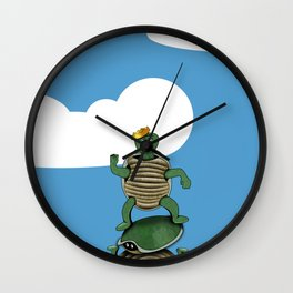 Yertle The Turtle Wall Clock