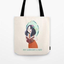 Fantasy Reader Tote Bag