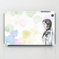 pride and prejudice iPad Cases featuring Pride and Prejudice by Wadart