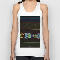 starry night Tank Tops featuring Starry Starry Night by Lior Blum