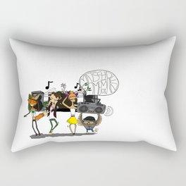 Matsch-Memoiren Rectangular Pillow