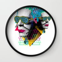 karl lagerfeld Wall Clocks featuring karl by DIVIDUS