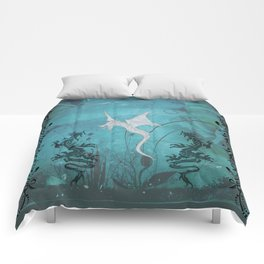 Wonderful dragon Comforters