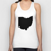 cincinnati Tank Tops featuring Cincinnati, Ohio, Home by Laura's Delirium