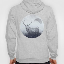 deer autumn Hoody