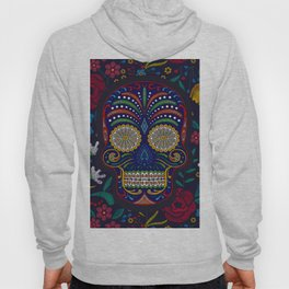 Rubino Floral Skull Hoody