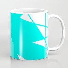 Geometric Blue Coffee Mug