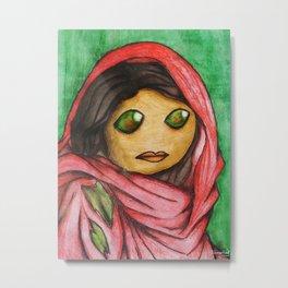 Afghan Toon Metal Print
