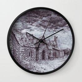 Forsaken Inn Wall Clock