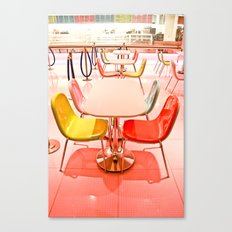 Bright Chairs Canvas Print