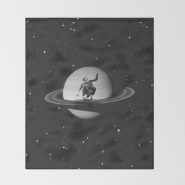 Planetary Ride Throw Blanket
