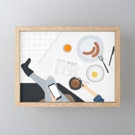 Dear Fall Weekend, Framed Mini Art Print
