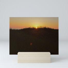 Final Curtain Mini Art Print