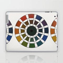 Rouget de Lisle - Table Chromatique 1838, Remake, faded version Laptop & iPad Skin