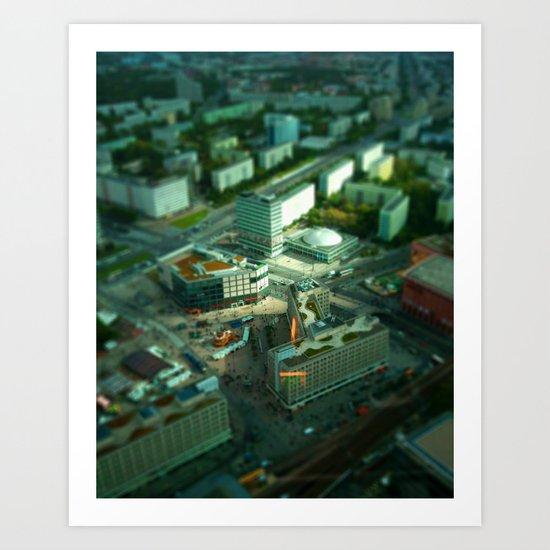 Mini Berlin I Art Print