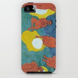 Egg N Matisse iPhone Case