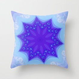 Fractal Series: 8g Throw Pillow