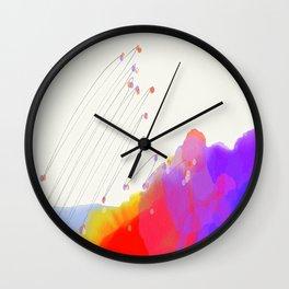 Constellation Hills Wall Clock