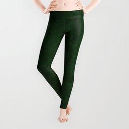 Marble Granite - Dark Emerald Green Leggings