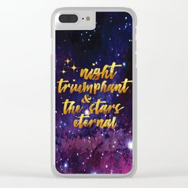 Night Eternal Clear iPhone Case