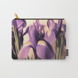 Soft Iris Carry-All Pouch