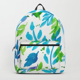 180726 Abstract Leaves Botanical 27|Botanical Illustrations Backpack