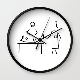 veterinarian veterinary medicine surgeon Wall Clock