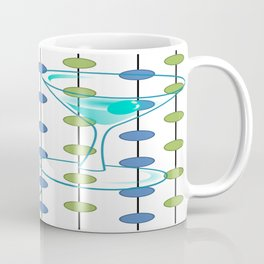 Mid-Century Modern Atomic Art Cocktails 1.0 Coffee Mug