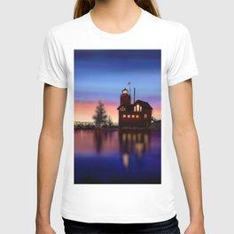Lighthouse Sunset T-shirt