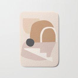 abstract minimal 24 Bath Mat