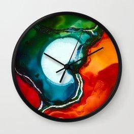 Liquid Color Wall Clock