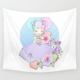 Sugary Tea Time Wall Tapestry