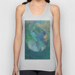 Abstract Mandala 216 Unisex Tank Top