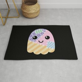 Patchwork ghost Rug