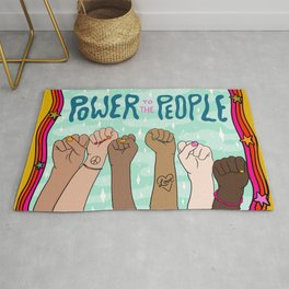 Power to the People Rug