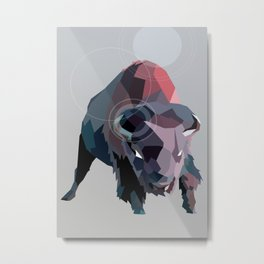 Buffs Metal Print
