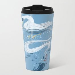 Fishin' Metal Travel Mug