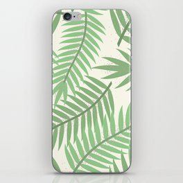 Vintage Florida Palm Fronds 2 iPhone Skin