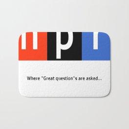Great Question - NPR Bath Mat
