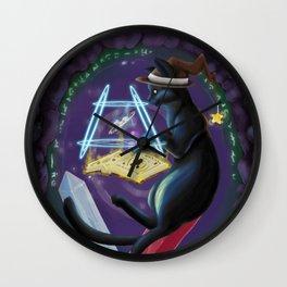 Salem the Summoner Wall Clock