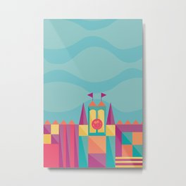 It's a small world after all | Disney inspired Metal Print