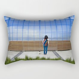 """Let Me In"" Rectangular Pillow"