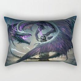 Black Dragon v2 Rectangular Pillow