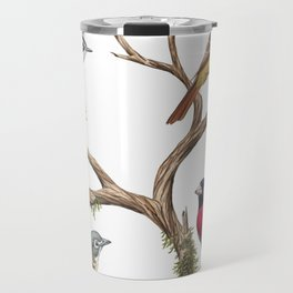 Four Songbirds Travel Mug