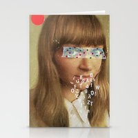lost in translation Stationery Cards featuring Lost in Translation by Low Low