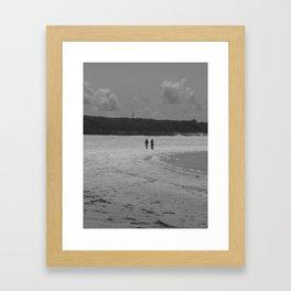 Irish Stroll Framed Art Print